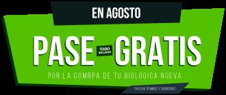 PASE GRATIS HASTA EL 15 DE AGOSTO