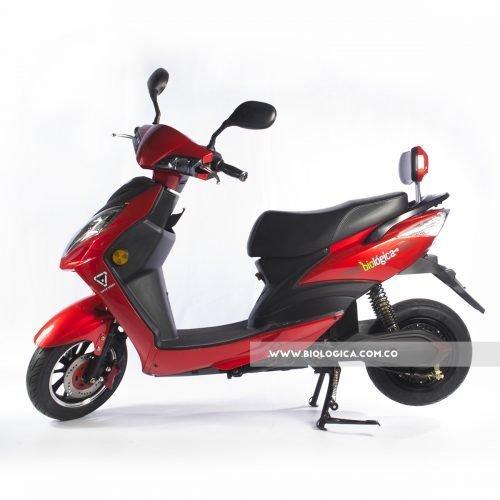moto electrica moderna bogota biologica neo rojo ferrari 01